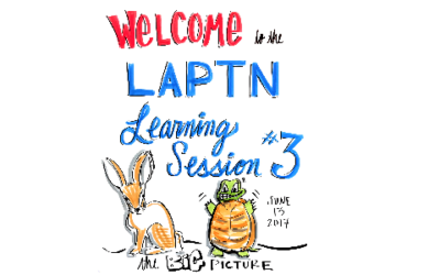 Graphic Recordings from LAPTN Learning Session #3